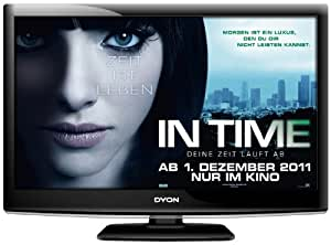 Dyon Omega 24 60 cm (23,6 Zoll) LCD-Fernseher (Full HD, DVB-T/S) schwarz
