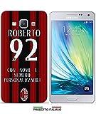 Cover Milan Maglia Personalizzabile per iPhone 4-4S-5-5S-5C-6-6 Plus-3G-3GS;Samsung Galaxy S2-S2 Plus-S3-S3 Neo-S3Mini-S4-S4Mini-S5-S5Mini-S6-S6 Edge;Galaxy Note 2-Note 3-Note 4;Galaxy A3-A5-A7-E5-E7-A310(A3 2016)-A510(A5 2016);Samsung S i9000-Grand 2 G7106-Grand Neo Plus-Core Plus-Core 2 G355-Galaxy S Duos S7562-S7582-Galaxy J5-Galaxy J510 (J5 2016)-Galaxy Core Prime-Grand Prime;Nokia Lumia 920; Huawey Ascend P6;LG G3; PER SPECIFICARE IL MODELLO DESIDERATO INVIARE UN MESSAGGIO AL VENDITORE.
