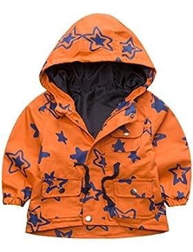 BOBORA Ragazzi bambini capispalla giacca a vento giacche autunno Fumetto stampa cappotti con cappuccio