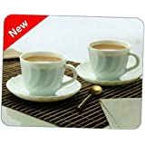 Aadvay Enterprises Cups And Saucers (Fluted)-Set Of 12_Assorted Colour And Design