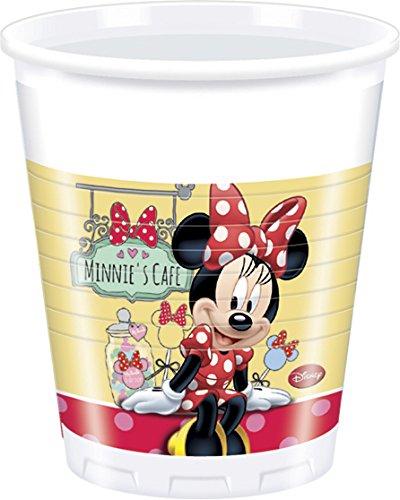 200ml Café Disney Minnie Maus Kunststoff Tassen, 8Stück