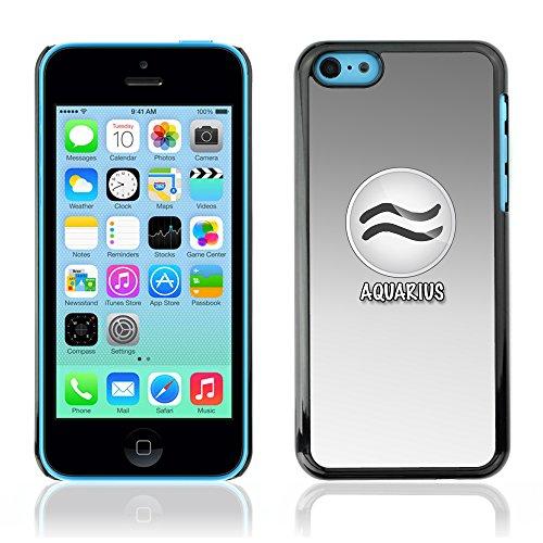 Graphic4You Virgo Jungfrau Horoskop Tierkreis Zeichen Design Harte Hülle Case Tasche Schutzhülle für Apple iPhone 5C Aquarius