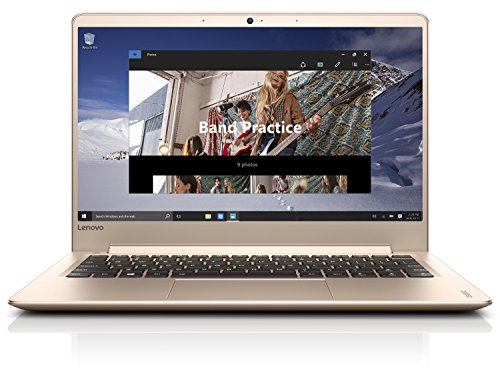 Lenovo ideapad 710S 13.3-inch Laptop (7th Gen Core i5-7200U Processor/8GB/256GB/Windows 10/Integrated Graphics), Golden