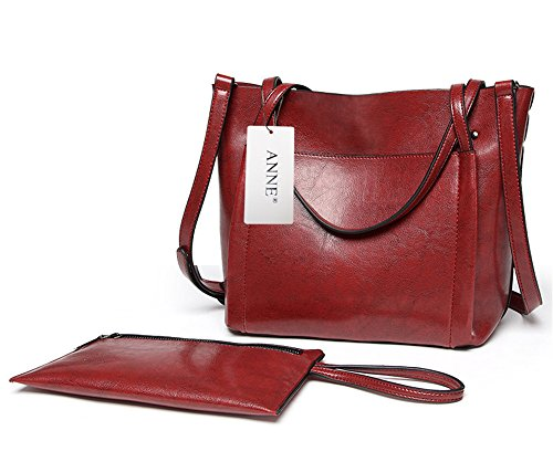 Anne, Borsa a spalla donna marrone Red Wine Red Wine