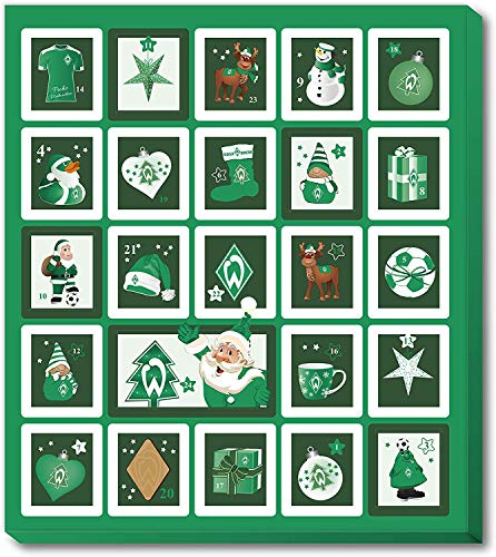 Fan-Shop Sweets Werder Bremen Premium Adventskalender 2019 (one Size, Multi)