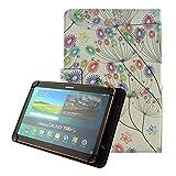 KATUMO Universal Tablet 10 Zoll Hülle, Schutzhülle für Samsung Galaxy Tab,Inklusive XIDO X111,Huawei MediaPad, Artizlee ATL-21plus 10 Zoll,Tablet PC ATL-21L,XIDO Z120/3G Tablet Pc ,Alldaymall 10 Zoll ,Lenovo Tab 2 A10-70 / Lenovo TAB3 10 Plus / YunTab 3G Tablet 10.1 inch / XIDO X110 10 inch, bunte Blume