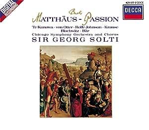 Matthäus-Passion (Arien und Chöre)