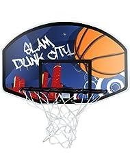 Set de baloncesto aro 45 cm y red - Incluye tablero de 90 cm + balón tamaño 7