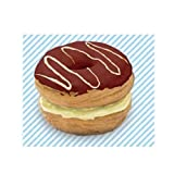 Cafe de N Delicious Double Stack Donut Slow Rising Chocolate Flavor