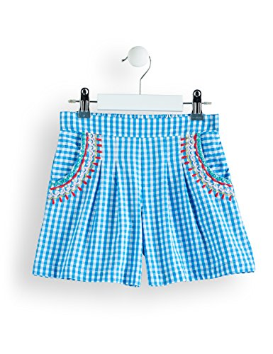 RED WAGON Girl's Gingham Embroidered Shorts