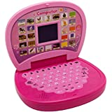 E - Royal Shop® Kid's Fun ABC and 123 Learning Educational Laptop with LED Screen (Multicolour)