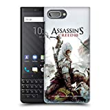 Head Case Designs Ufficiale Assassin's Creed Connor Ascia III Arte Chiave Cover Retro Rigida per Blackberry KEY2