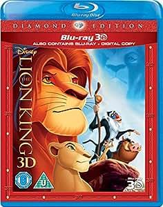 The Lion King (Blu-ray 3D + Blu-ray) [Region Free]