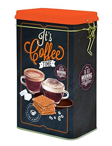 It's Coffee time MinaWum para el café de tarro de estilo retro con di