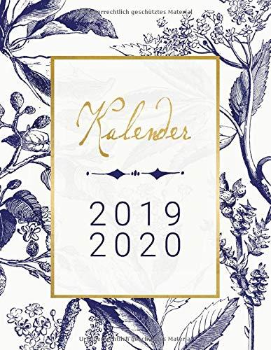 Kalender: 18 Monate 2019 2020 Pl...