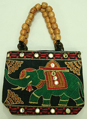 silkroude Damen Indischen Vintage Hand Tasche Weihnachten 5PCS Viel Multi-Color