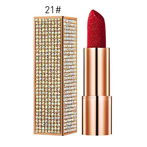 NOTE Shinny Diamond High Velvet Gloss Lipstick Waterproof Non-stick Cup Long Lasting Matte Lipstick Cosmetic Beauty