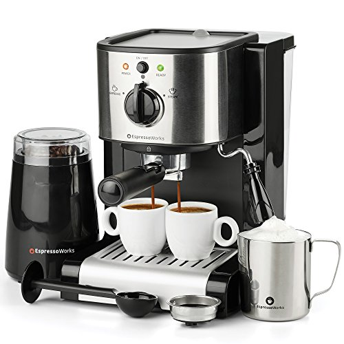 7 Pc All-in-One Espresso & Cappu...