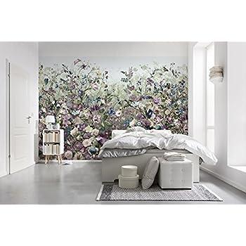 Komar - Vlies Fototapete BOTANICA - 368 x 248 cm - Tapete, Wand Dekoration,  Blumen, Schlafzimmer, Romantik - XXL4-035