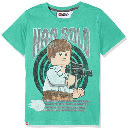 Lego Wear Jungen T-Shirt Star Wars M, Grün (Green 858), 146