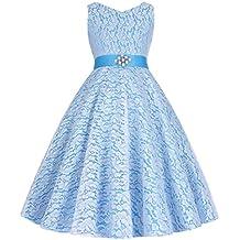 Grace Karin® A-Línea Vestido de Princesa sin Mangas Cuello V de Dama de Honor