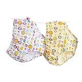 SBL Biancheria intima da ragazza/triangolo di cotone/bambini / studenti/bambini grandi/pantaloni di pane/pantaloncini da bambina per bambine,giallo,M
