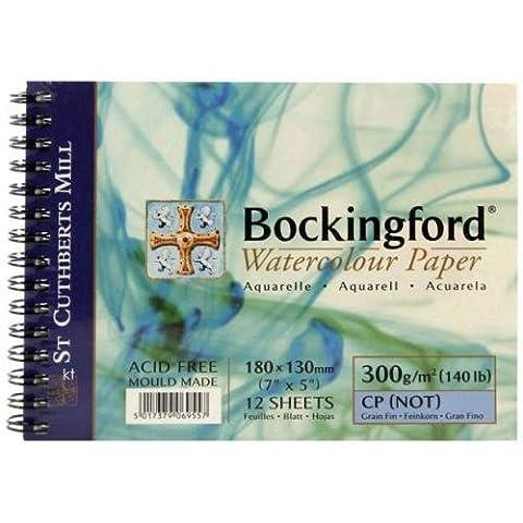 Bockingford 300gsm Spiral Watercolour Pad 12