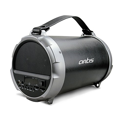 Artis BT405 Wireless Portable Bluetooth Speaker With USB / FM / SD Card Reader / Aux In