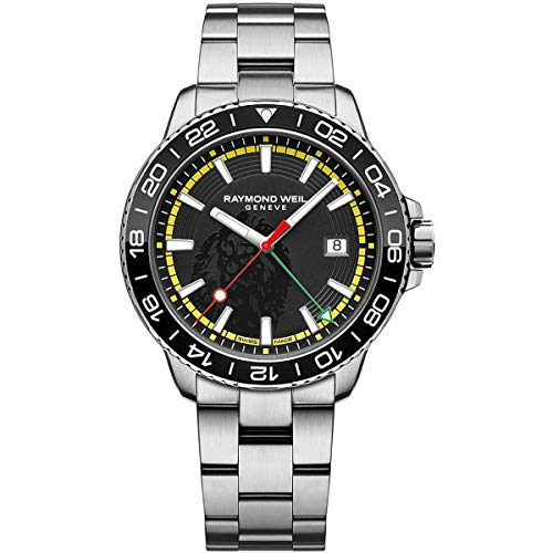 Montre Homme Raymond Weil Tango GMT Bob Marley Limited Edition 8280-ST1-BMY18