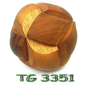 Casse-tête en bois ballon de Football