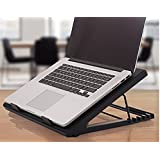 Rife Laptop Adjustable Angled Cooling Stand with Silent Fan and USB Powered