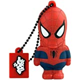Marvel The Avengers Spiderman 16 GB USB Flash Drive | Official Marvel Collectible Gift | Pen Drive Keychain