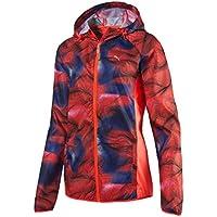 Puma Packable Woven Jacket W - Chaqueta Cortavientos para Mujer, Color Rojo, Talla XS