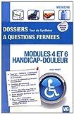 Modules 4 et 6 handicap-douleur