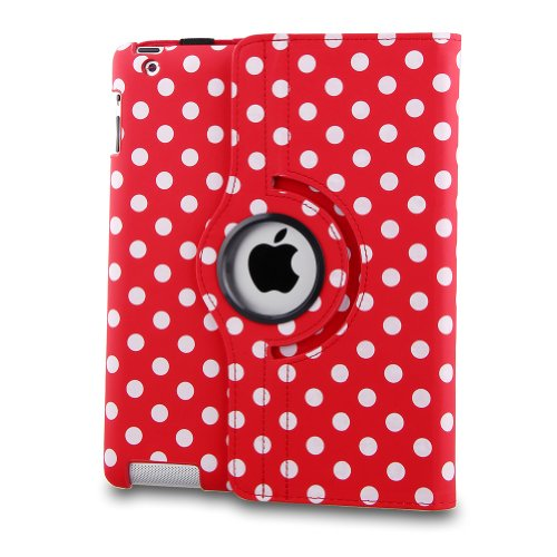 Generic Rot New iPad Mini Case, Polka