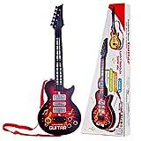 YAKOK 4 Cuerdas Guitarra Electrica Niños Guitarra Bebe Juguete para Niños y Niñas 2-5 años...