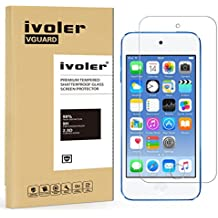 iPod Touch 6G & 5G Protector de Pantalla Cristal, iVoler® Film Protector de Pantalla de Vidrio Templado Tempered Glass Screen Protector para Apple iPod Touch 6G & 5G -Dureza de Grado 9H, Espesor 0,20 mm, 2.5D Round Edge-[Ultra-trasparente] [Anti-golpe] [Ajuste Perfecto] [No hay Burbujas]- Garantía Incondicional de 18 Meses