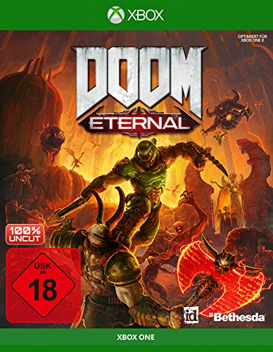 DOOM Eternal inkl. Metal Plate (Exkl. bei Amazon) [Xbox One]