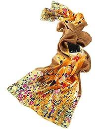 6c57e7e1ba Prettystern - LUSSO 170cm Gustav Klimt Pittura Art Nouveau sciarpa di seta  lungo handrolled raso pesante