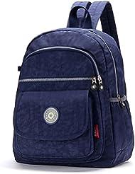 FORU BAG - Mochila de senderismo mujer, medium, color Navy Blue-FBA, tamaño mediano