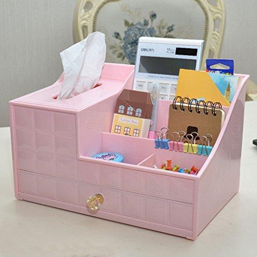 Bürotisch Aufbewahrungsbox Kunststoff Multi-Layer Kleine Schublade Datei Kosmetik Schreibtisch Schutt Finishing Box (Color : 1)