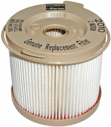 62-2010PMOR Racor Replacement Turbine Cartridges, Red Color, 30 Microns