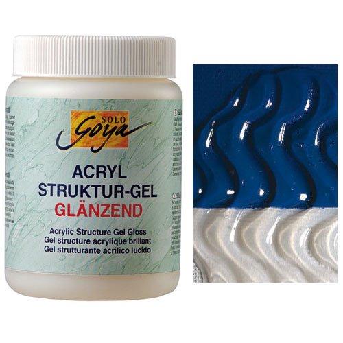 Solo Goya Acryl Struktur-Gel Glänzend,250 ml [Spielzeug]
