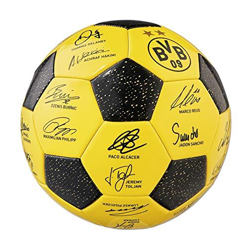 Preisvergleich Produktbild BVB-Unterschriftenball 2018 / 19 one size