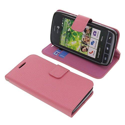foto-kontor Tasche für Doro Liberto 820 Book Style pink Schutz Hülle Buch