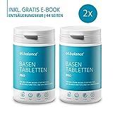 tri.balance Basentabletten Pro 225 Tabletten - 2er Pack inkl. E-Book Entsäuerungskur zum Ausgleich des Säure-Basen-Stoffwechsel I vegan