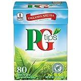 PG Tips Schwarztee beutel - Black Tea bags - 80