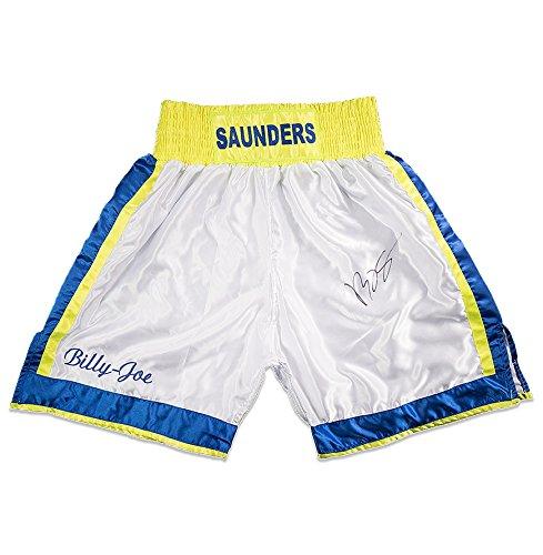 Billy Joe Saunders Signed Boxing Shorts - Saunders