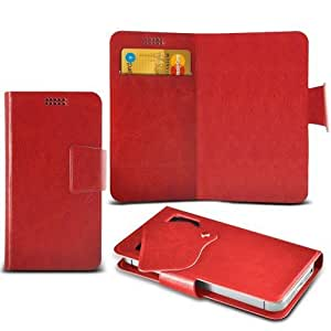 Samsung Galaxy A8 Super Thin Suction Pad Wallet (Red) Plus Free Gift, Screen Protector and a Stylus Pen, Order Now Best Valued Phone Case on Amazon! By FinestPhoneCases
