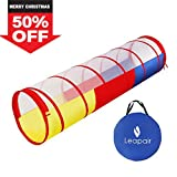 WolfWise Tunnel per Tenda da Gioco Pop-up Tubo da Avventure per Bambini 1.8M (Lunghezza)x 0.48 M(Diametro) Multicolori